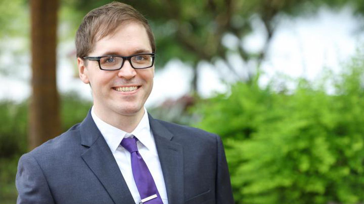 Joshua Comer, an assistant professor of communication and the communication program director at...