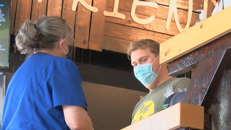 Businesses are preparing for the reinstatement of a mask mandate in Louisiana