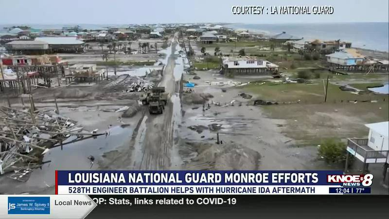 The 528th Engineer Battalion in Monroe assisted in south Louisiana with search and rescue and...