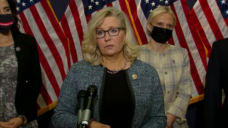 Rep. Liz Cheney is facing heat from fellow members of the GOP.