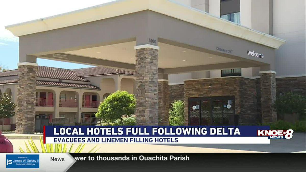 HOTELS STAY FULL FOLLOWING DELTA