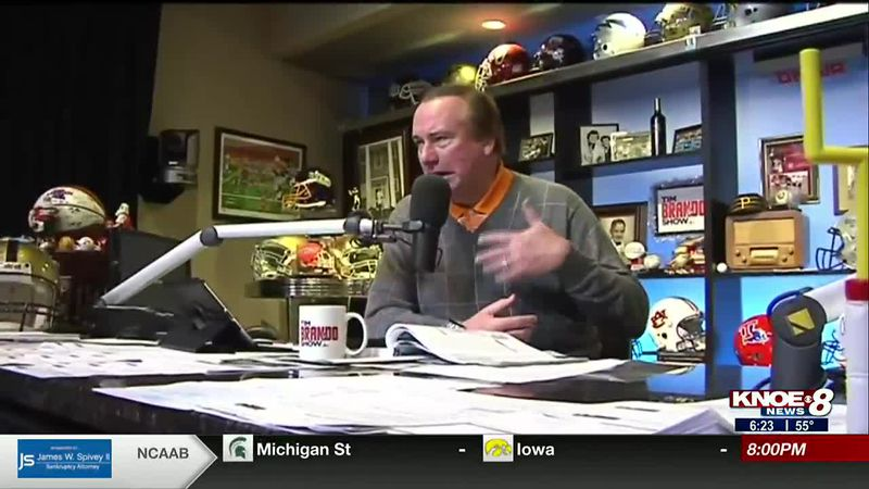 National broadcaster and former ULM student Tim Brando discusses ULM head coaching hire Terry...
