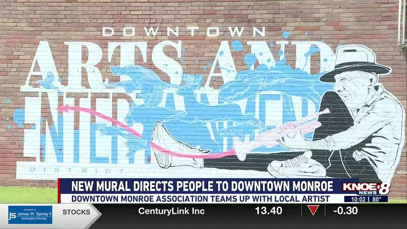 New art directs people to downtown Monroe