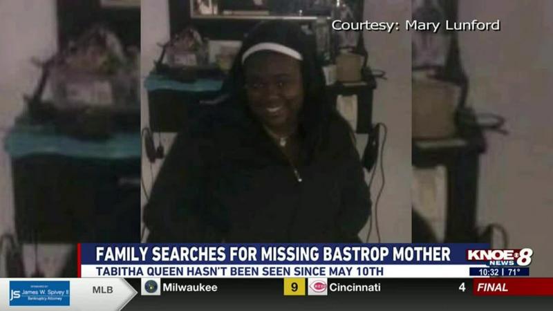 Tabitha Queen has not been seen since May 10.