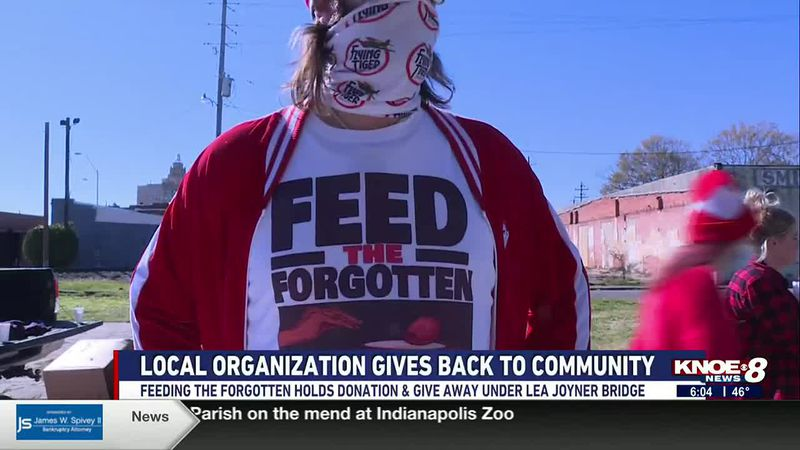 Feed the Forgotten meets under Lea Joyner bridge to give back to community
