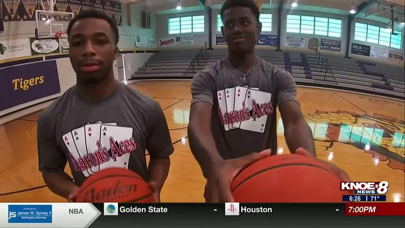 Simsboro's Nick Maryland & Braxton Taylor are this week's Aaron's Aces.