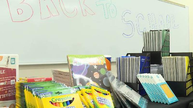 City of Monroe donates Back To School supplies