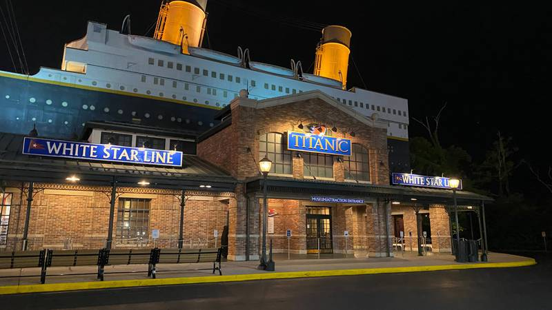 The Titanic, a Pigeon Forge attraction