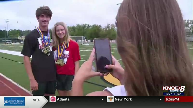 Two OCS Eagles earn some major accolades in track & field.