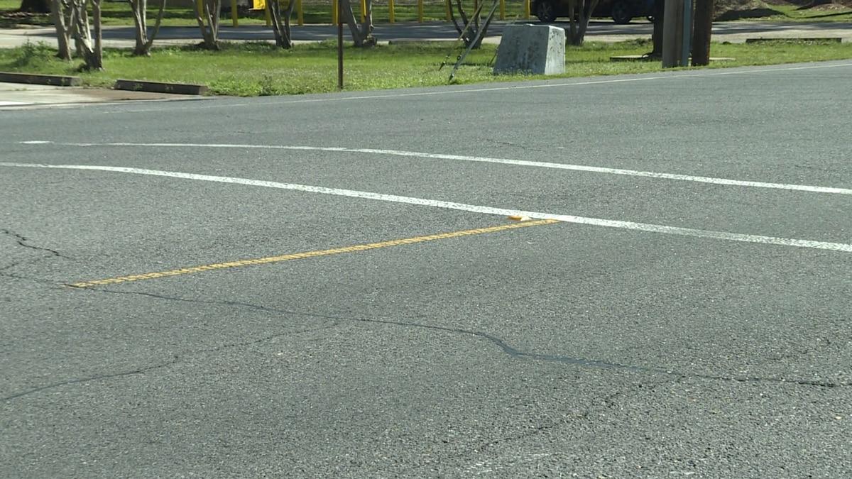 Monroe City School Board member Jennifer Haneline said she was concerned over faded school crosswalks in the city. Source: (KNOE)