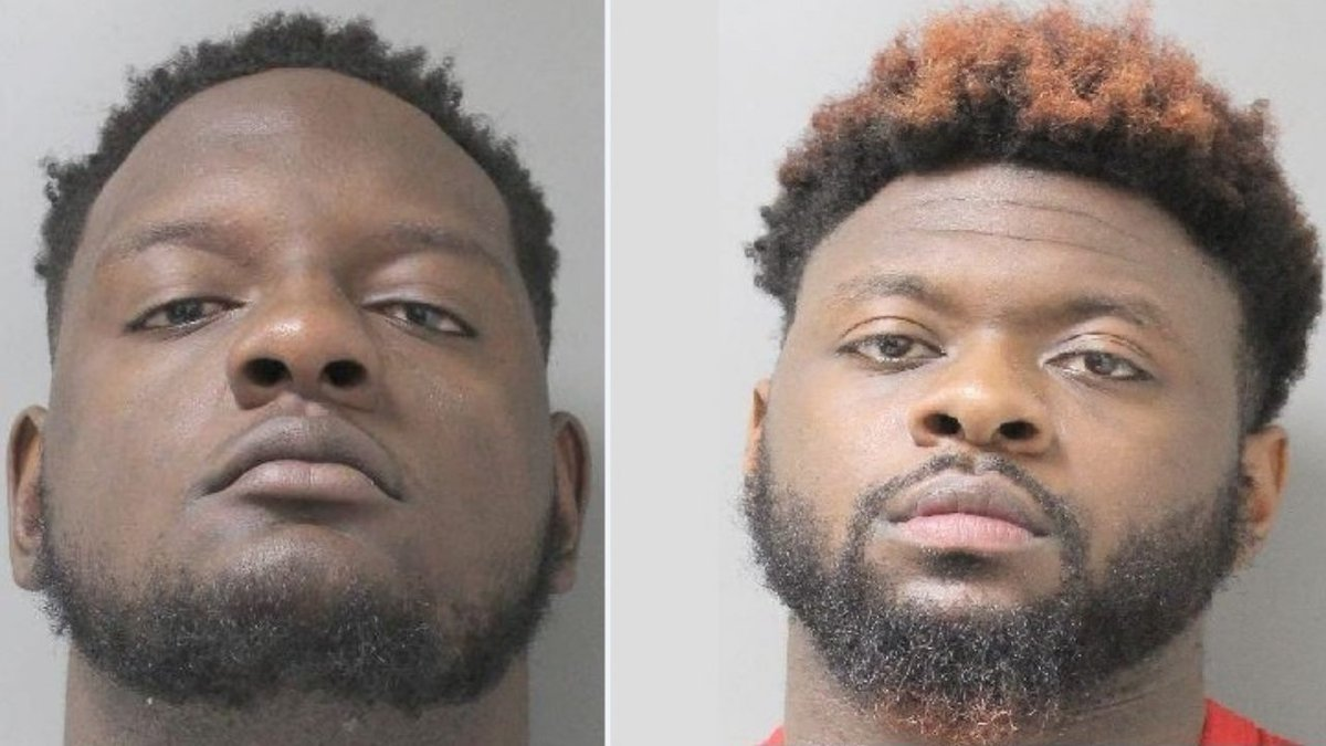 Arrested: Cameron Robinson, Laurence Jones (courtesy: OPSO)
