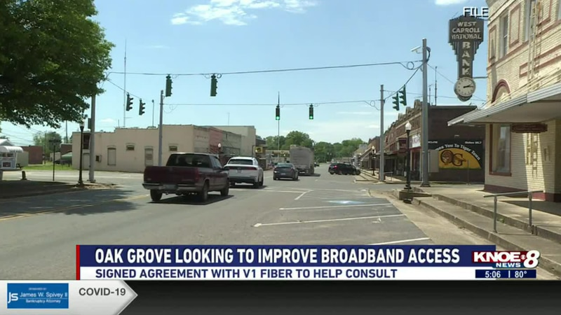 Mayor Adam Holland says this has been a need for years with extremely slow internet in...