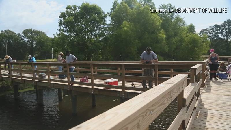 Officials say fishermen need to be properly licensed on the lake