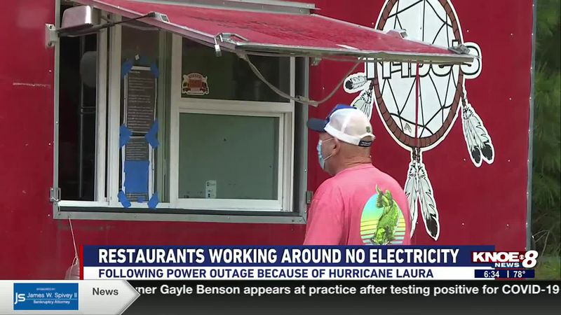 Many northeast Louisiana restaurants are feeling the effects of the widespread power outages...
