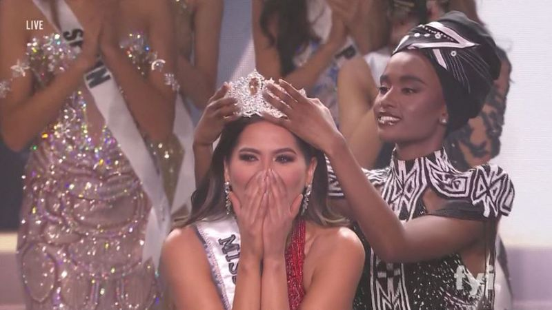 Andrea Meza of Mexico beat out Miss Brazil at the end of the night to be crowned Miss Universe....