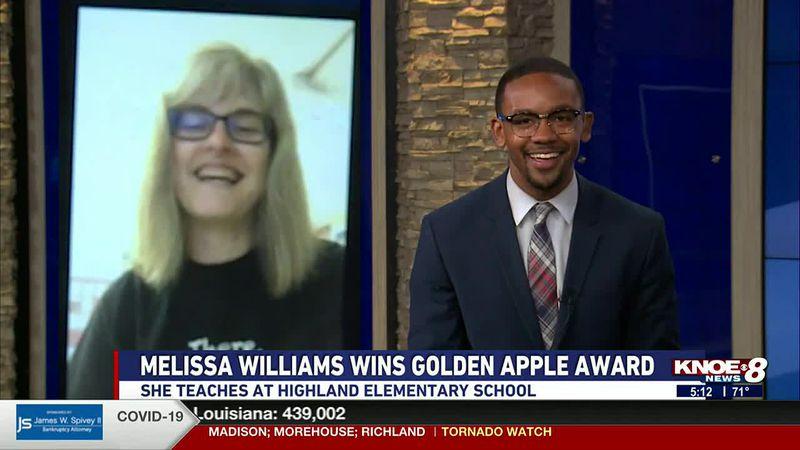 Banner Ford of Monroe Golden Apple Teacher of the Week