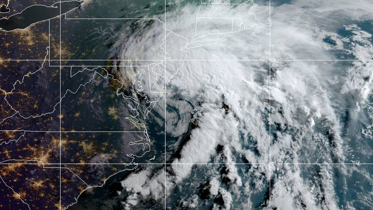Tropical Storm Fay has weakened into a tropical depression early Saturday morning.