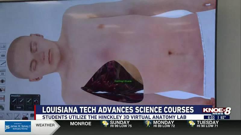 Louisiana Tech University has a new 3D Virtual Anatomy Lab
