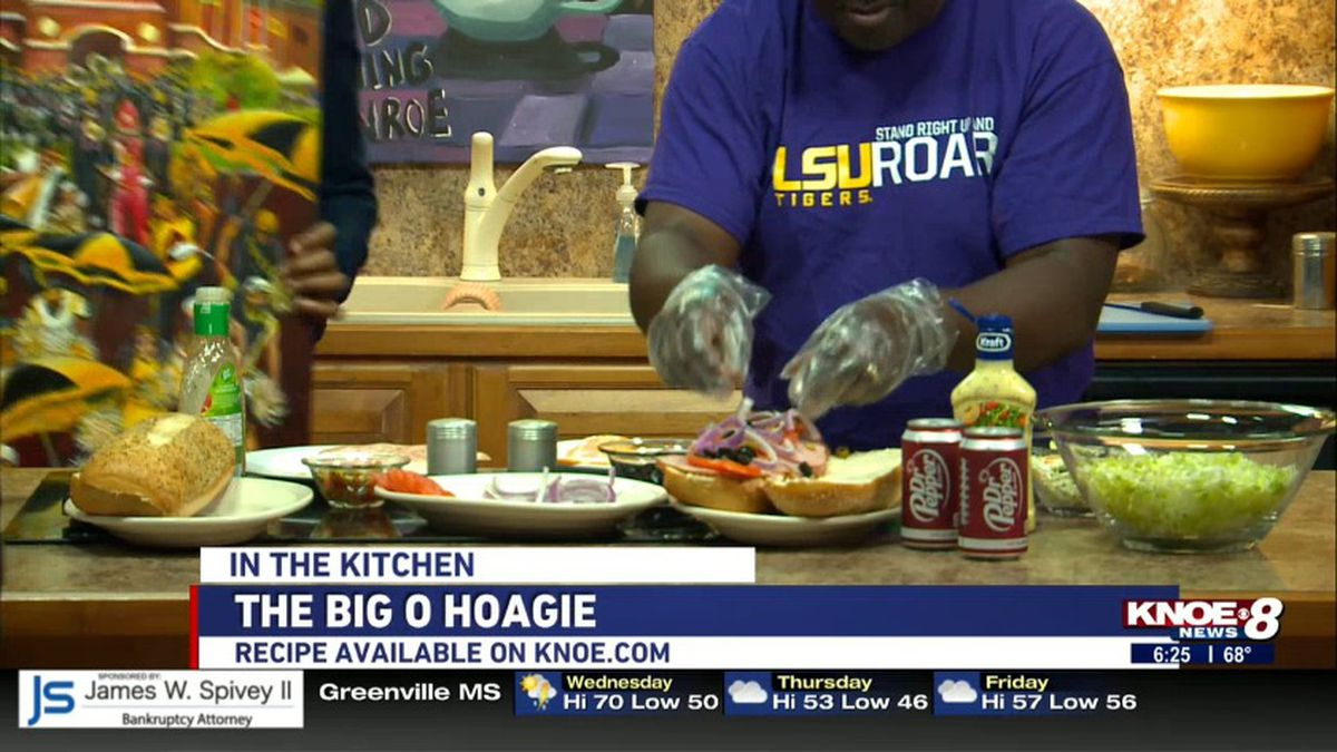 Chef Darrell Teats joined us in the kitchen to teach us how to make A big hoagie. Source: (KNOE)