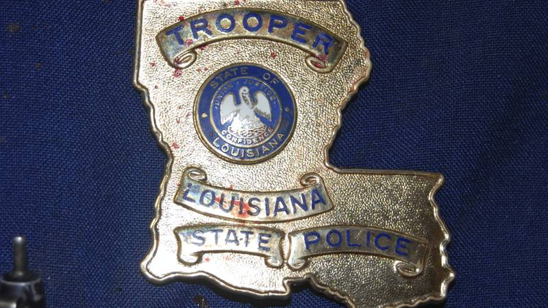 FILE - This May 10, 2019, file photo, provided by the Louisiana State Police shows blood stains...