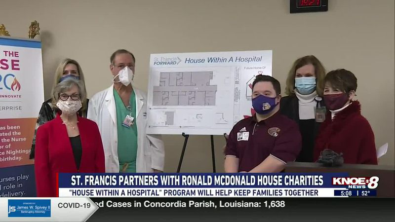 ST. FRANCIS PARTNERS WITH RONALD MCDONALD HOUSE CHARITIES