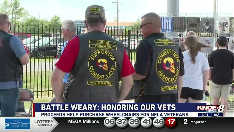 Proceeds from the event help give wheelchair and wheelchair batteries to NELA veterans.