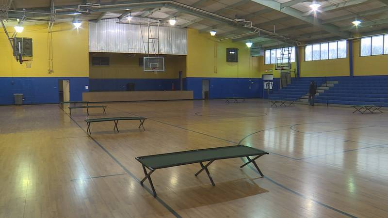 Liller Marbles Community Center remains closed to the public while housing Hurricane Ida...