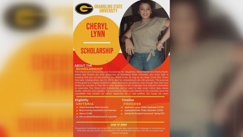 The daughters of a missing Lincoln Parish cold case victim are launching a scholarship in their...