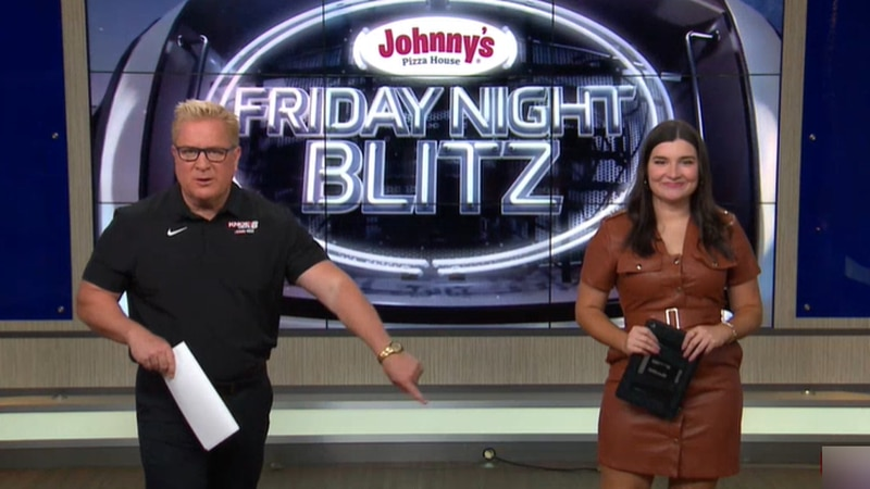 KNOE Blitz 2021 Week 8 hosted Aaron Dietrich and Anna Jane Howell