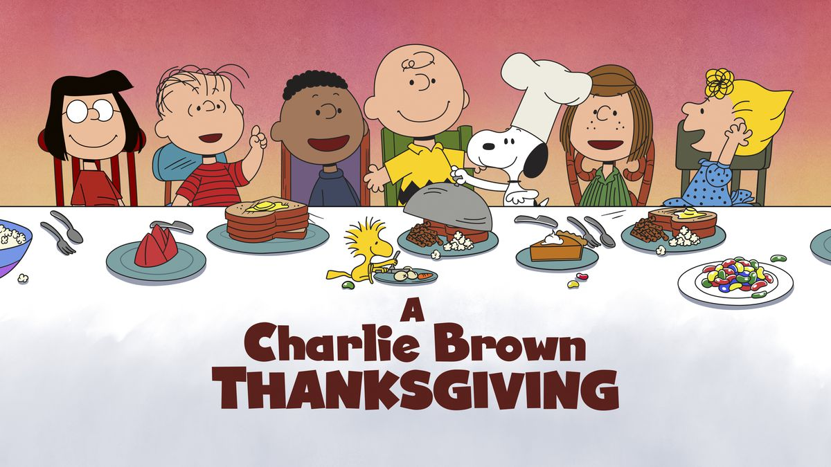 """This image released by Apple shows key art for the animated classic """"A Charlie Brown..."""