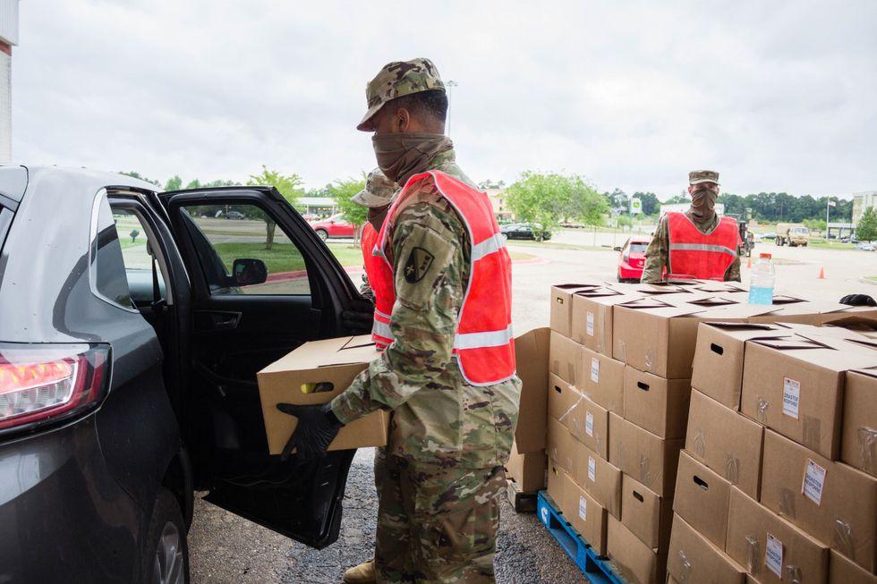 NELA food distribution