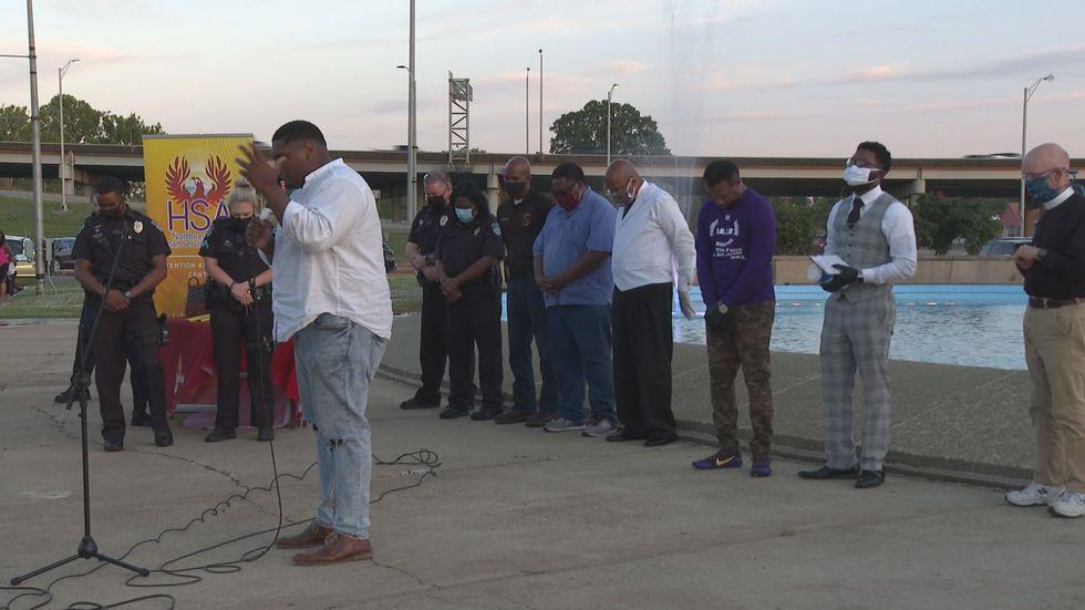 Monroe faith leaders hold prayer rally for mental health ...