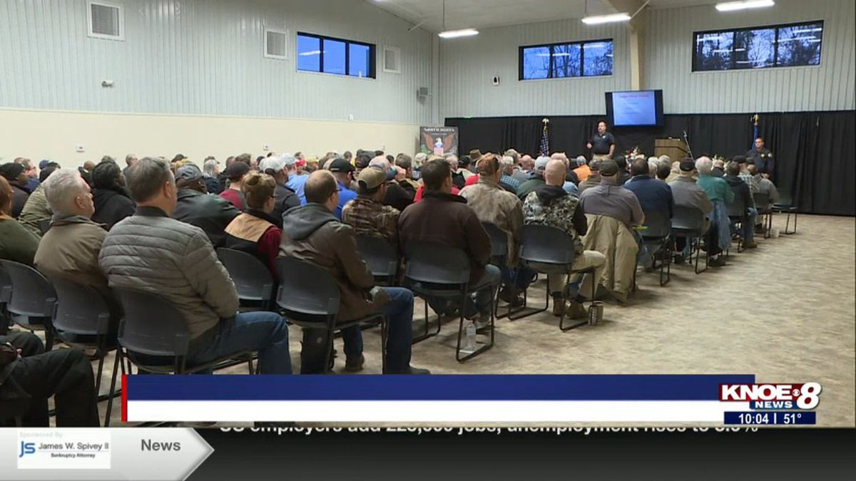 More than 200 people attended the course. (Source: KNOE)