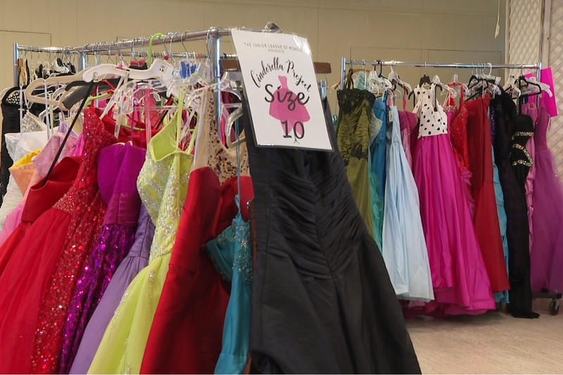 High school junior and senior girls have the opportunity to pick out a prom dress free of...