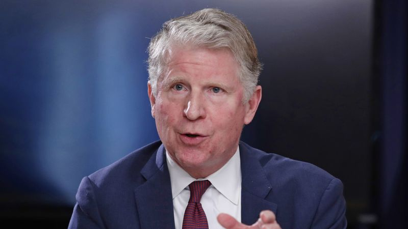 FILE - In this May 10, 2018 file photo, Manhattan District Attorney Cyrus R. Vance Jr. responds...