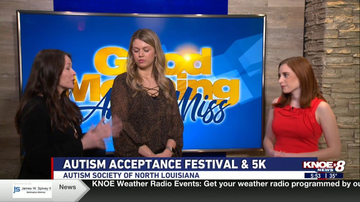 Kristen Mardis and Mclin Hickman with Jessica Torricelli discusses The Autism Society of North...
