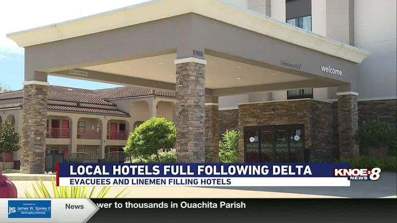 HOTELS STAY FULL FOLLOWING DELTA