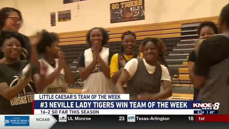 Neville girls basketball takes home Little Caesar's Team of the Week.