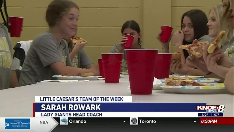 Number 3-ranked Jena softball wins Little Caesar's Team of the Week before starting their 3A...
