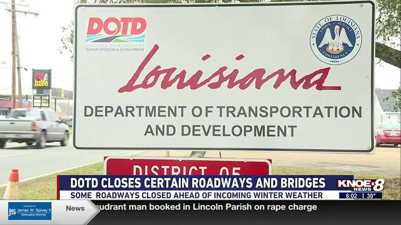 Departmenrt of Transportation shares info on road closures