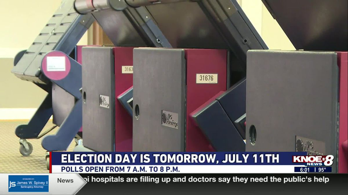 Officials say most machines have been tested and sealed ahead of Election Day.