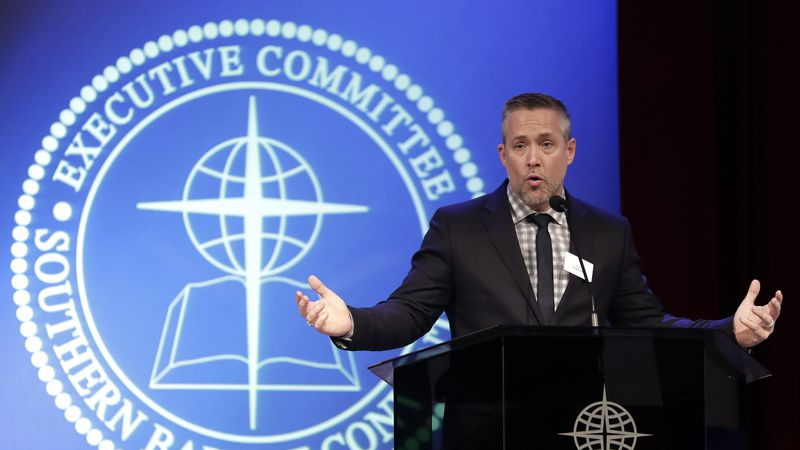 In his opening speech to the 2021 executive committee meeting, Southern Baptist Convention...