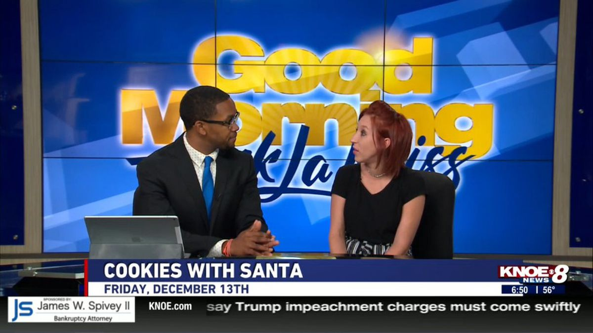 Staci Pitres, Market Director for Precision Caregivers, joins us to talk about their first annual Cookies with Santa event.