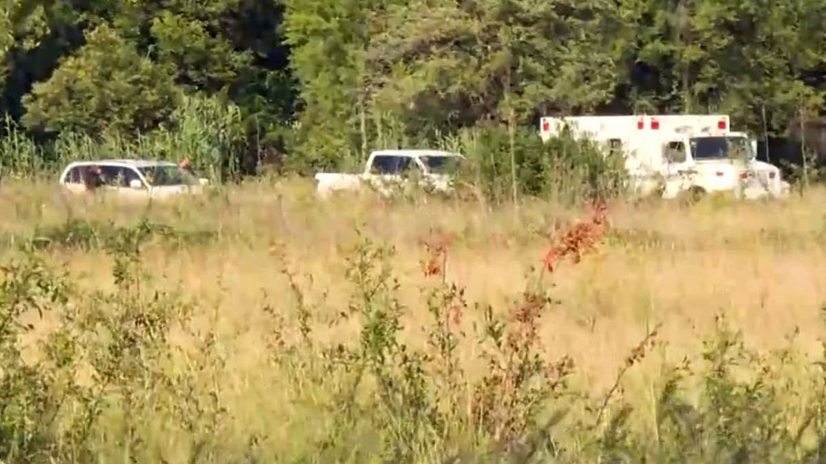 Skeletal remains were discovered late Friday morning during a K9 search of a field in the 3200...