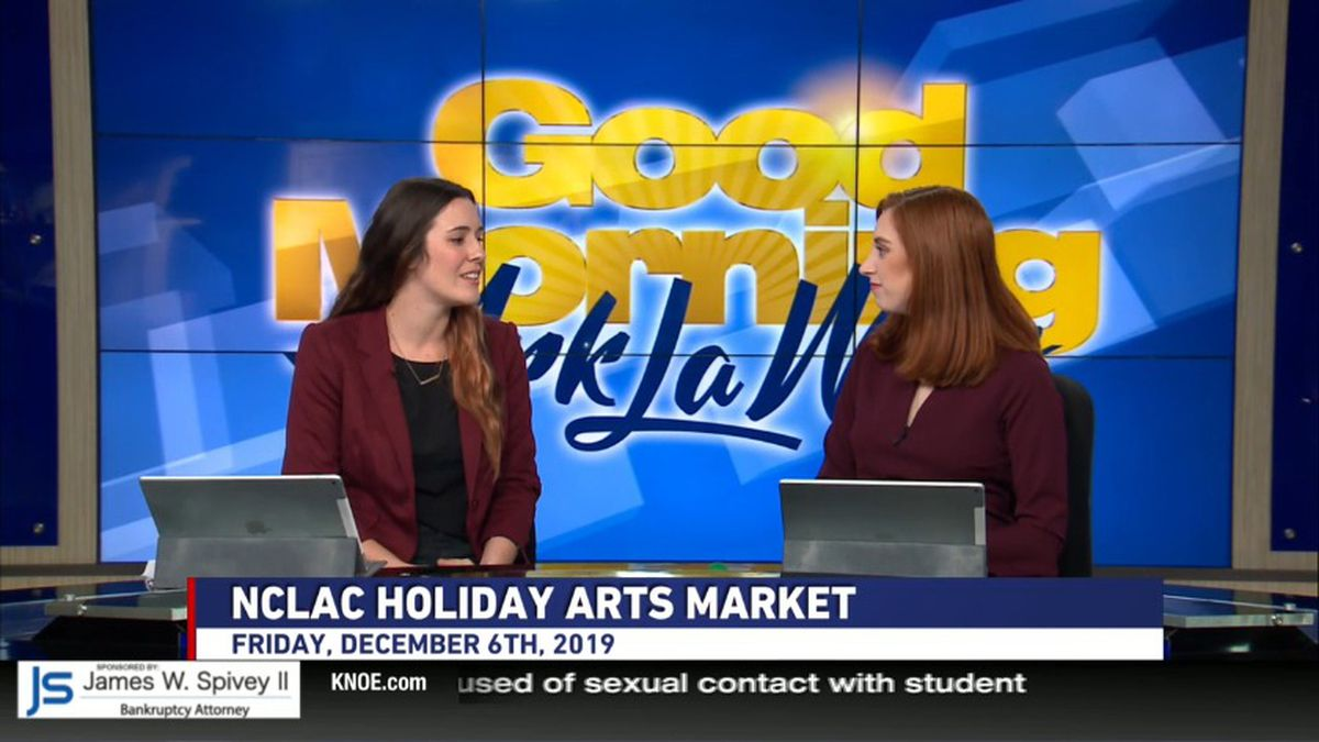 Madeline Marak, Executive Director of North Central Louisiana Arts Council, invites the community to come and support local artists in the Holiday Arts Market.