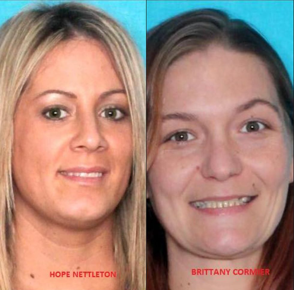 Hope Nettleton (left) and Brittany Cormier (right) were shot and killed in Montegut on Jan. 13,...