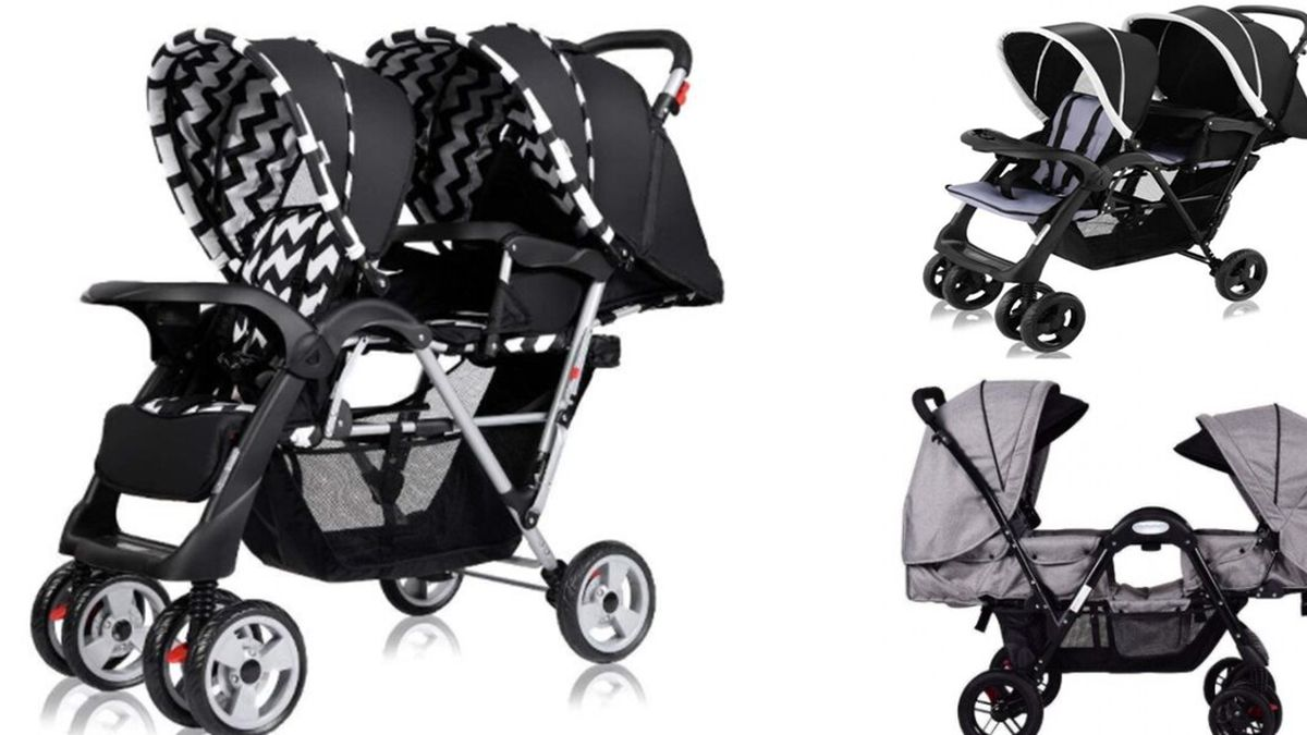 The recalled strollers violate the Federal Standard for Carriages and Strollers, officials said. A child's torso can pass through the opening between the activity tray and the seat bottom and his/her head can become entrapped, posing entrapment and strangulation hazards. The location of the crotch restraint creates a large opening between the seat bottom and the restraint, posing a fall hazard to children. Pictured are models BB4613 (Top right), BB4476 (left), BB4690 (bottom right) (Source: CPSC)
