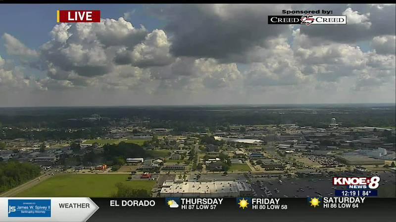 KNOE Thursday Noon Forecast with Meteorologist Sheena Martin