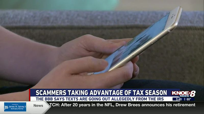 It's tax season and Jo-Ann Deal with the BBB says scammers are trying to spoof the Internal...