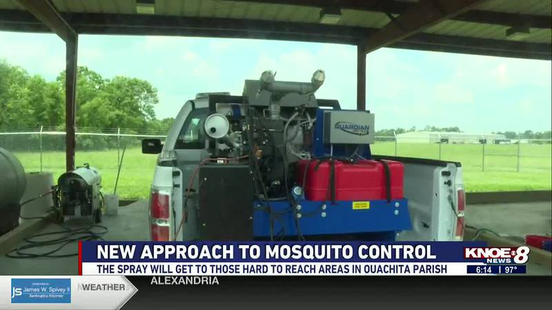 Several mosquito pools in Monroe and West Monroe tested positive for the West Nile Virus.